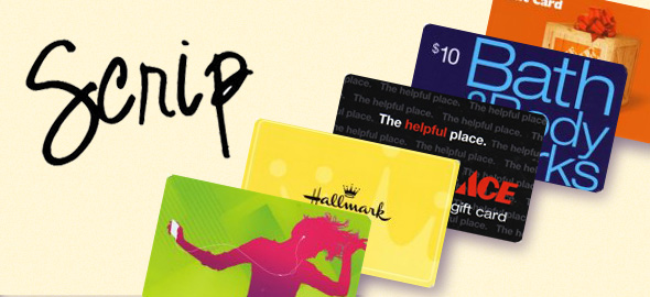 Holy Angels SCRIP Gift Cards