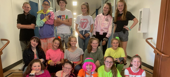 80s Dress Up Day
